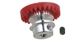 Sloting Plus SP070125 25 Tooth INLINE Crown Axle Gear Aluminum Hub