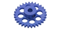 Sloting Plus SP074428 28 Tooth SIDEWINDER Axle Gear 16.8mm