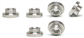 Sloting Plus SP115001 Special M2 Nuts for Suspension Kit x 6