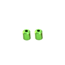"Scale Racing SR-1123 ""EVOLUTION"" BODY POST TUBES (2)  7.0 MM-Green"