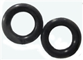 Super Tires ST1103RU Yellow Dog Urethanes for Scalextric F1, IRL, Lotus 49