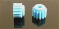 Thunderslot THPN13PL Plastic Pinion 13 Teeth (2 pcs) pale bluee
