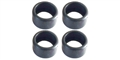 Thunderslot THTYR003FR X8 Slick Racing FRONT Tires ZERO Grip 9x16MM (4 pcs)