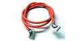 TQ RACING TQ130 1' 18 Gauge Orange Silicone Lead Wire w/ Silver Clips