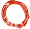 TQ RACING TQ950 5' 16 Gauge ORANGE Silicone Insulated Drag Racing Lead Wire
