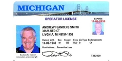 Race Drivers License - Picture ID With Lifetime Track Time Discount