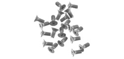 TSRF TSC17 Motor mounting screw - 2mm stainless steel flat head - PRICE EACH