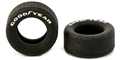 Pioneer TY201251 Goodyear White Letter Rear Tires Mustang/Camaro