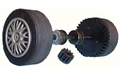 Scalextric W8754 Rear axle assembly, New Mini