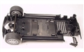 Scalextric W9021 Chassis underpan with mounting screws and front axle assembly for Mini Coopers C2564 & C2565