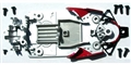 Scalextric W9419 Chassis for C2747 Ferrari 312T