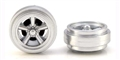 Pioneer WH200372 Street Torq Thrust (all silver) Front wheels (pair) Mustang/Camaro Street Car