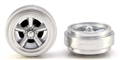 Pioneer WH201312 Street Torq Thrust (all silver) Rear wheels (pair) Mustang/Camaro Street Car