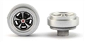 Pioneer WH202091 Charger Crager Mag 500 Wheel (rear) silver - pack of 2.