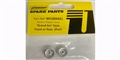 Pioneer WH204431 Charger Crager Mag 500 Wheel (front) silver - pack of 2.