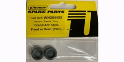Pioneer WH204433 Charger Crager Mag 500 Wheel (front) gray - pack of 2.