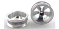 Wheels Etc WHE511 Flanged 1/24 / 1/32  Spoke Front / Rear Wheels for #5-40 Threaded Axle