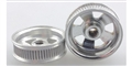 Wheels Etc WHE514 Flanged 1/24 / 1/32 5 Spoke Front / Rear Wheels for #5-40 Threaded Axle