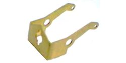 Wilde Racing Products WRPRW-03 Brass Inline Motor Bracket - Tall Tires