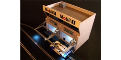 Royale Slot Car Accessories Z1001 1/32 Modern LeMans Style Pit Lane Building