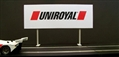 Royale Slot Car Accessories Z5006 1/32 Uniroyal Classic Trackside Sign