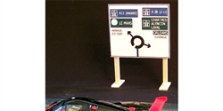 Royale Slot Car Accessories Z5010 1/32 LeMans Track Road Sign