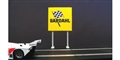 Royale Slot Car Accessories Z5012 1/32 Bardahl Limited Edition Classic Trackside Sign