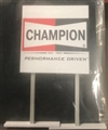 Royale Slot Car Accessories Z5017 1/32 CHAMPION Classic Trackside Sign