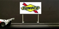 Royale Slot Car Accessories Z5024 1/32 SUNOCO Trackside Billboard