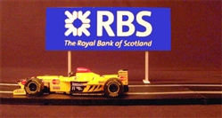 Royale Slot Car Accessories Z5027 1/32 RBS Trackside Billboard
