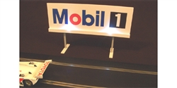 Royale Slot Car Accessories Z5501 ILLUMINATED 1/32 Mobil Trackside Billboard