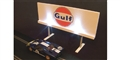 Royale Slot Car Accessories Z5502 1/32 ILLUMINATED GULF Classic Trackside Sign