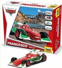 "ZVEDA ZVE2017 1/43 Snap Together Model ""FRANCESCO"" Disney Pixar ""Cars / Cars2"""