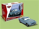 "ZVEDA ZVE2018 1/43 Snap Together Model ""FINN MCMISSLE"" Disney Pixar ""Cars / Cars2"""